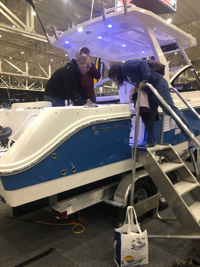 Cleveland Boat Show 1